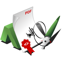 Create digital signatures for PDF documents with PHP
